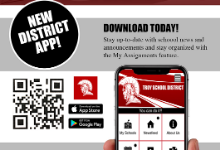 The New Troy District App