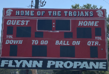 New Scoreboard To Enjoy For Our Students and Community.