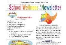 School Wellness Newsletter Fall 2021