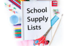 TROY INTERMEDIATE SCHOOL Class Supply List 2019-2020