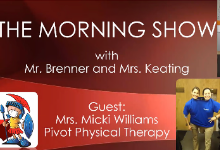 THS Morning Show with Mr. Brenner & Mrs. Keating - Nov 23rd, 2020